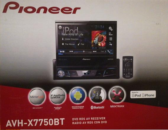 Radio Pionner -- Avh-x7750bt + Bajo Pioner + Potencia Alpine