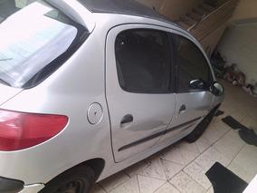 Peugeot 206 Prata 4 Portas
