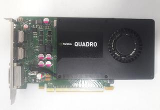 Tarjeta De Video Profesional Nvidia Quadro K2000 2 Gb Ddr5