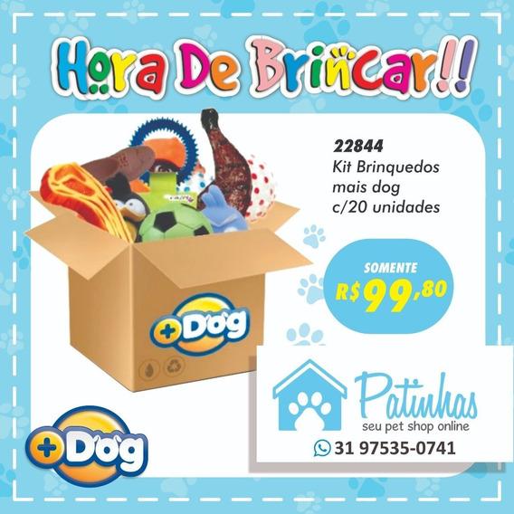 Kit Com 20 Brinquedos Mais Dog Sortidos