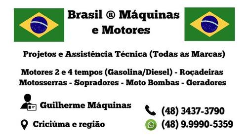 Imagem 1 de 5 de Conserto De Motores Roçadeiras, Motosserras, Geradores...