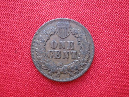 Imagen 1 de 2 de Usa 1 Cent 1901