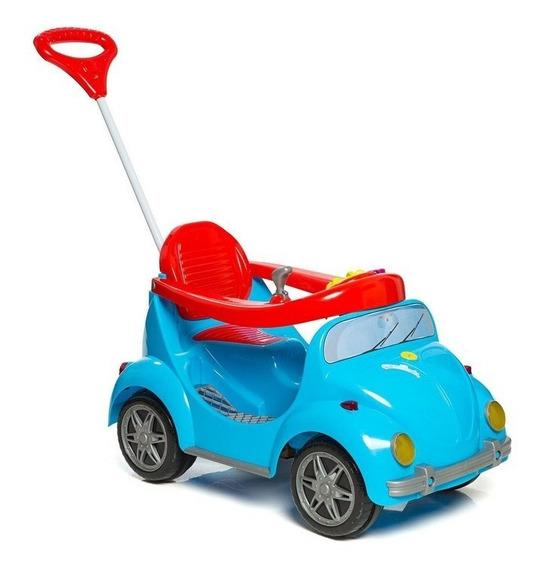 Carrinho Passeio Infantil Pedal Empurrador 1300 Fouks Azul
