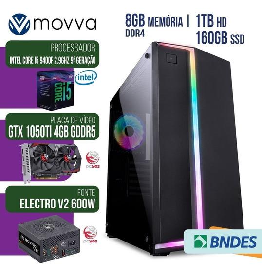 Pc Gamer Intel I5 2.9ghz 9ª 8gb Ssd 160gb Hd 1tb Gtx 1050 Ti
