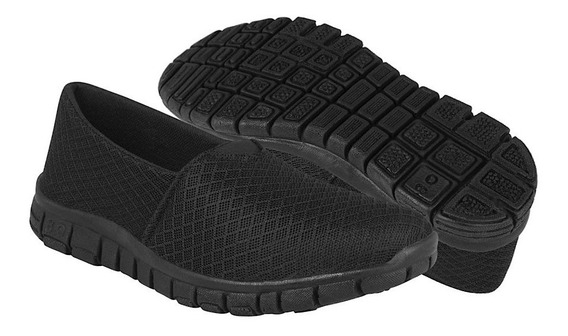 Stylo Zapatos Dama Casuales 805 23-26 Textil Negro