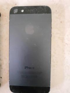I Phone 5 Negro Liberado 16 Gb (usado)