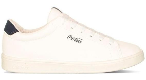 Tênis Coca Cola Town Branco Casual - Original + Nfe