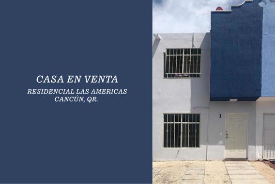 Casa En Cancún Súper Bien Ubicada Y Recién Remodelada