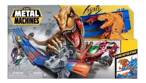 Imagem 1 de 2 de Pista Metal Machines 4 Lane Raptor Attack  Candide