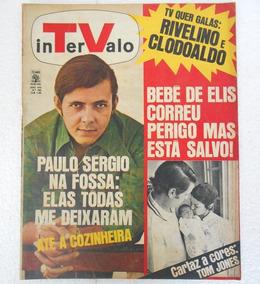 Revista Tv Intervalo Nº 390 Rivelino
