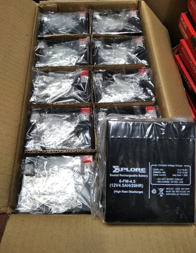 Imagen 1 de 2 de Batería Para Ups 12v 4.5 Amp