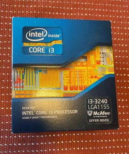 Procesador Intel Core I3-3240 De 3.4ghz, Socket 1155