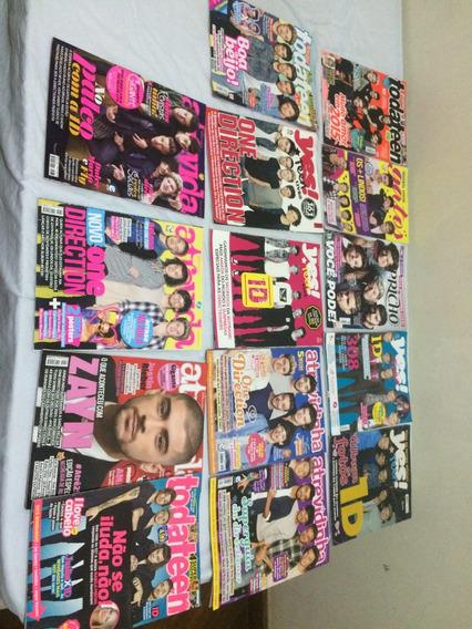 Kit 14 Revistas Adolescentes One Direction - S/ Poster