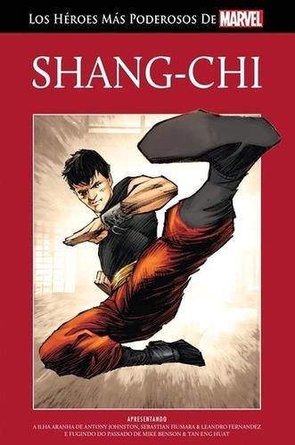 Libro, Comic, Marvel,salvat- Tapa Roja Nº33shang-chi