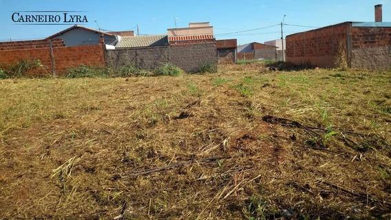 Terreno À Venda, 160 M² Por R$ 35.000 - Vila Mais Bariri - Bariri/sp - Te0186