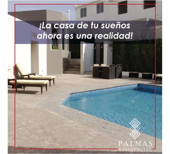Linda Casa Amueblada En Renta En Palmas Residencial