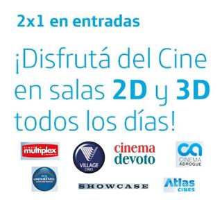 Códigos 2x1 Entradas 2y3 D Village Cines Showcase Atlas Etc.