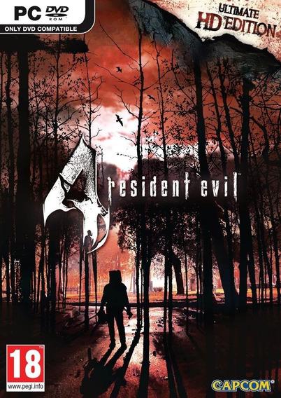 Resident Evil 4 / Biohazard 4 Hd Edition Pc Steam Key