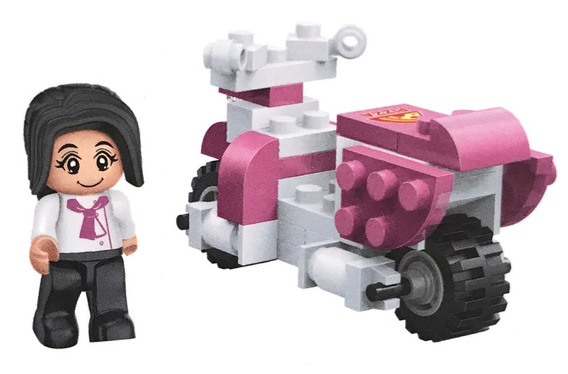 Mini Brick Bloques De Construcción Repartidores De Pizza