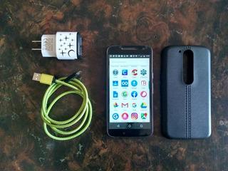 Motorola G4 Usado 16 Gb/2gb Ram. 95 Verdes