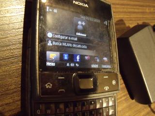 Nokia Cubo X5-01 Raro Sistema Symbian -grafite