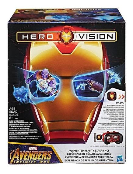 Hero Vision Iron Man Mascara Realidad Aumentada