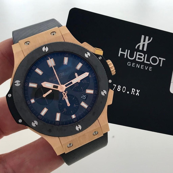 Hublot Big Bang Evolution Ouro Rosé & Cerâmica 44mm