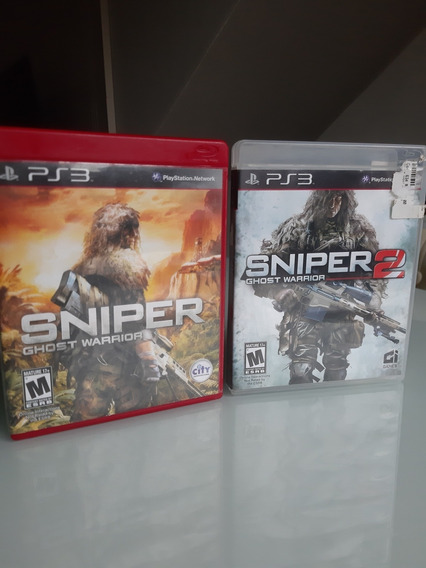 Sniper Ghost Warrior Ps3 Mídia Física