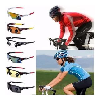 Óculos Esportivo Sol Bike Ciclismo Corrida Vôlei Uv400