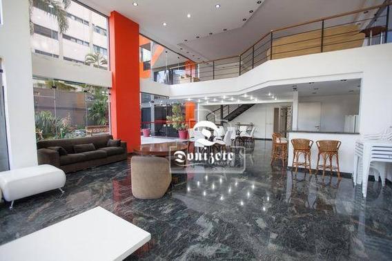 Apartamento Com 4 Dormitórios À Venda, 178 M² Por R$ 825.000,00 - Vila Valparaíso - Santo André/sp - Ap12631