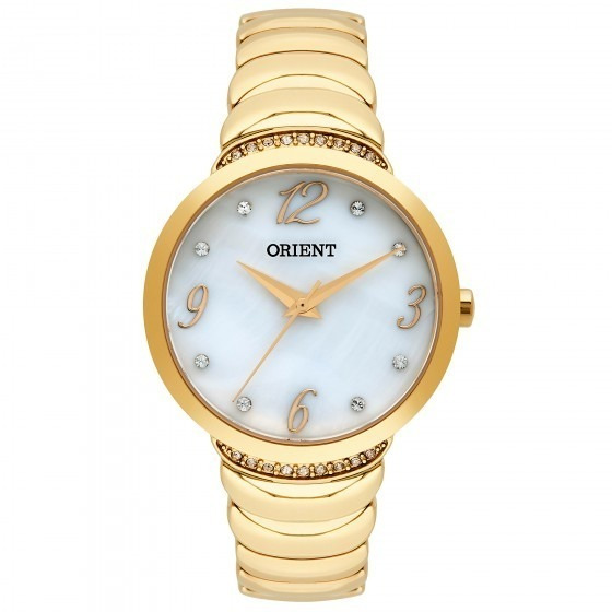 Relógio Orient Fgss0094 B2kx Eternal Feminino Dour- Refinado