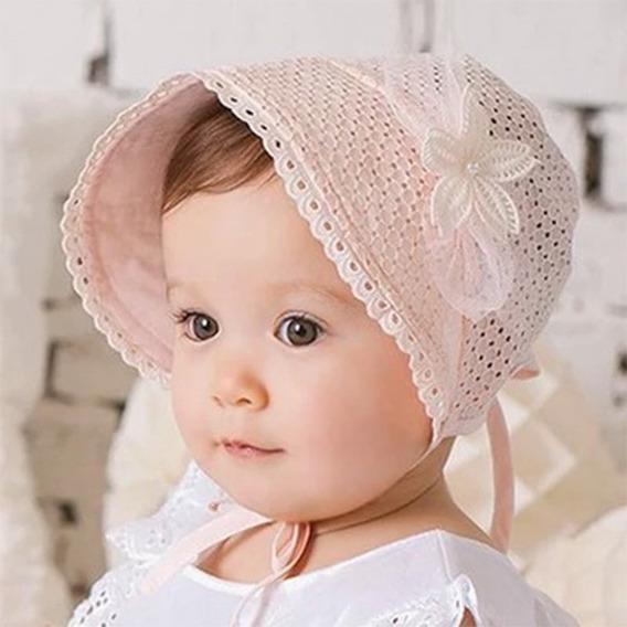 Touca Chapéu Gorro Infantil Para Bebês Proteção Solar Sol Uv
