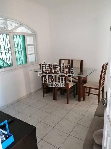 Imagem 1 de 15 de Casa, 2 Dorms Com 70 M² - Vila Mirim - Praia Grande - Ref.: Pr1318 - Pr1318