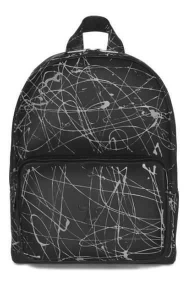 Backpack Pollock Plata Mr-bkp-berlin-ngo-plk-plata
