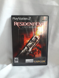 Resident Evil Outbreak - Usado Como Nuevo - Ps2