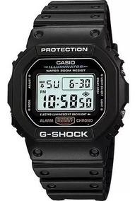Relógio Masculino Casio G-shock Dw-5600 Original Nf Preto