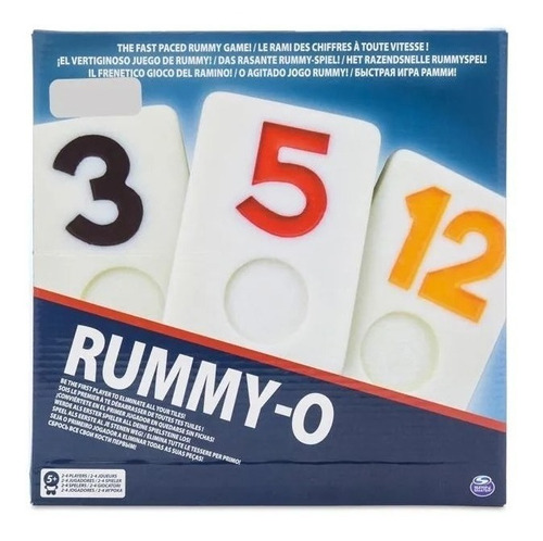 Juego de mesa Rummy-O Spin Master