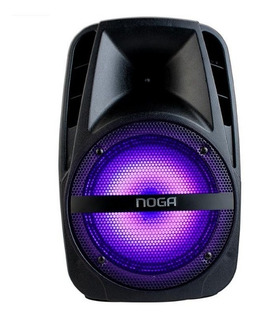 Parlante Karaoke Noganet Ng-f25m Bluetooth Portatil Con Led