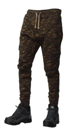 Pantalon Babucha Camuflados Chupin 40 Al 48 Jeans710