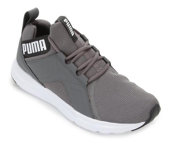 Tênis Puma Enzo Sport Masculino - Cinza