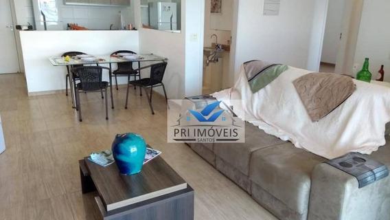 Apartamento À Venda, 92 M² Por R$ 685.000,00 - Ponta Da Praia - Santos/sp - Ap1084
