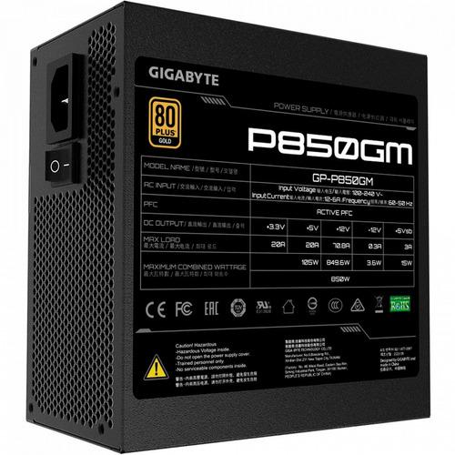 Fuente De Poder Gigabyte 850w 80 Plus Gold Modular Gp-p850gm