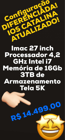 iMac Apple 27 Inch 5k Processador I7 16gb (novo)