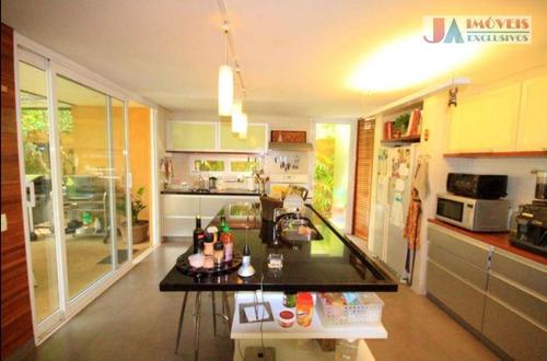 Casa Com 3 Dormitórios À Venda, 334 M² Por R$ 4.450.000,00 - Vila Madalena - São Paulo/sp - Ca1522