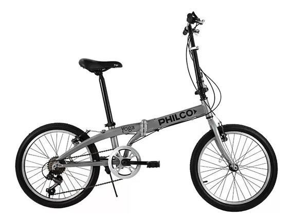 Bicicleta Plegable Aluminio Yoga Philco 20vn060u Rodado 20