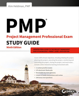 Pmp Project Management Professional Exam Study Guide 2 X 1