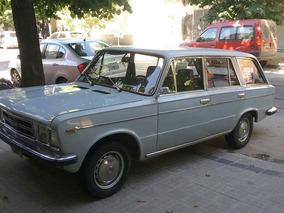 Fiat 125 Rural Vendo O Permuto. Tomo Moto - Permuta