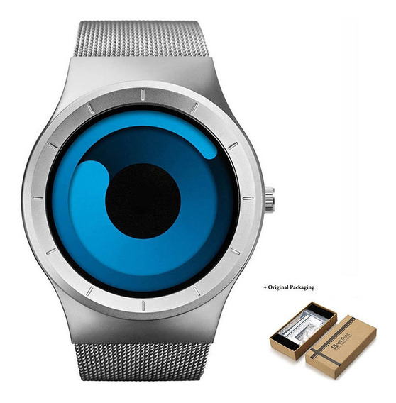 Relógios Criativo Quartz De Luxo Unisex À Prova D