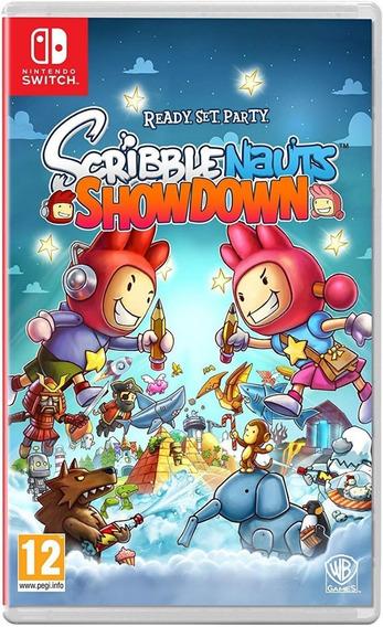 Switch Scribblenauts Showdown Novo Lacrado