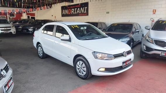 Volkswagen Voyage Trend 1.6 Branco 2014